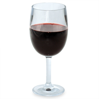 GLASSWARE - OUTDOOR Design+ Contemporary Classic Wine Stemmed - 13 oz