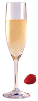 GLASSWARE - OUTDOOR Design+ Contemporary Champagne Flute Stemmed - 5 oz