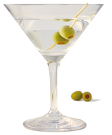 GLASSWARE - OUTDOOR Design+ Contemporary Martini Cocktail - 12 oz