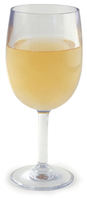 GLASSWARE - OUTDOOR Design+ Contemporary Classic Wine Stemmed - 8 oz