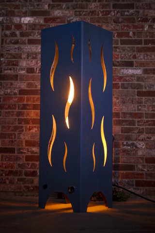 FIRE TOWER   PATIO HEATER   NATURAL GAS MODEL